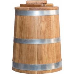 Кадка Премиум 25 л (кавказский дуб)
