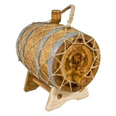 Бочка 5 л Премиум (кавказский дуб)
