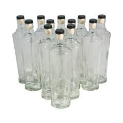 Комплект бутылок «Орбита» с крышкой 0,5 л (12 шт.)