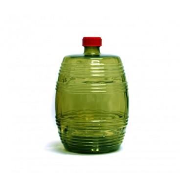 Бутыль Бариле, зеленое стекло, 10 л. (с крышкой)